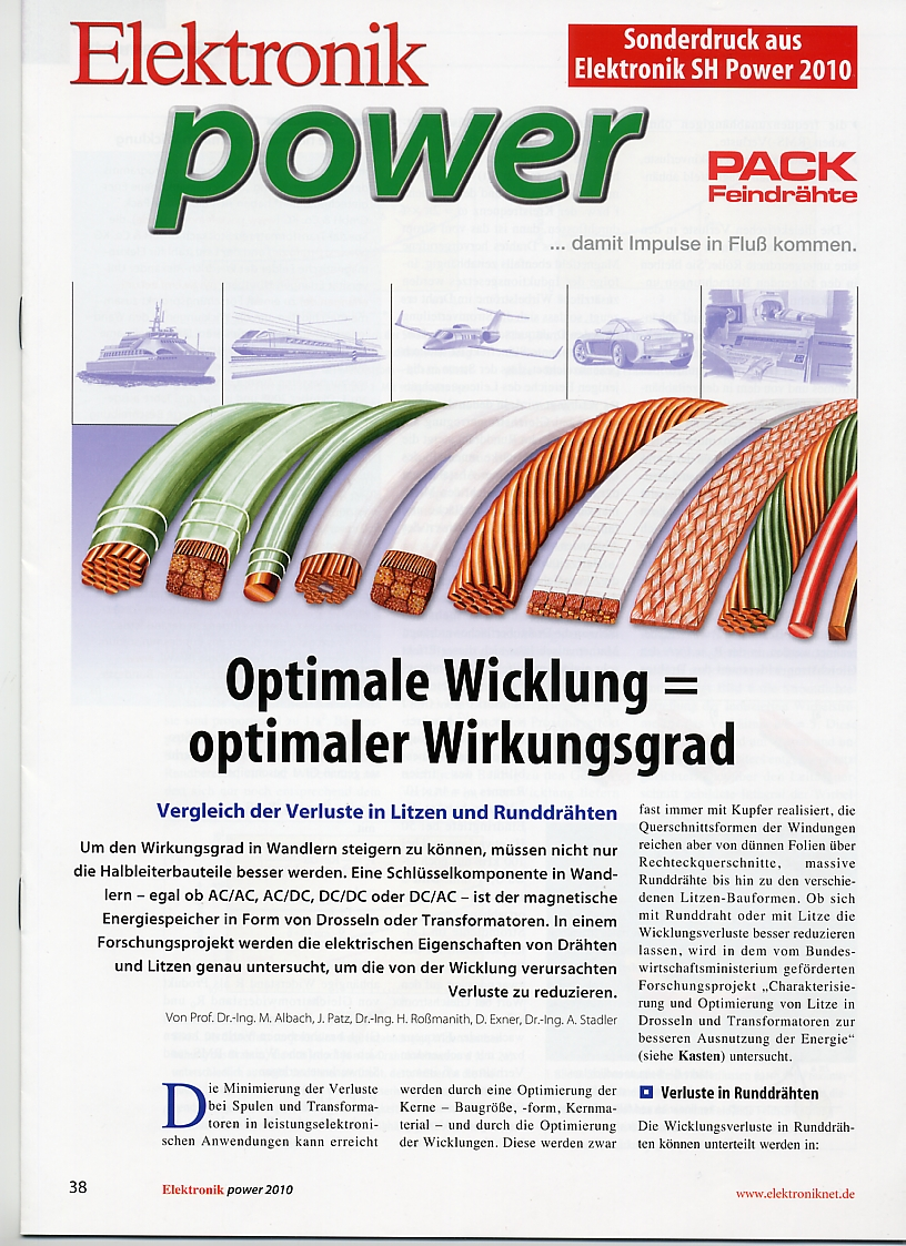 Optimale Wicklung = optimaler Wirkungsgrad | PACK LitzWire